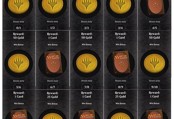 MTGアリーナ「毎日無料で1パック以上のゴールドが貰える!」デイリークエスト解説!