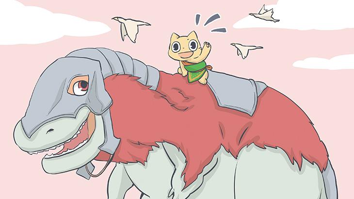 MTG女子・徒然テン日記part5「クリーチャー戦を学ぼう!恐竜デッキ作ってみた」