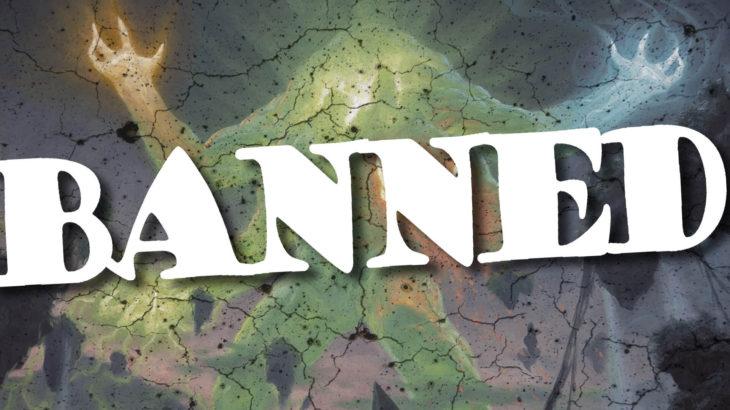 BanBanBanned-MTGの禁止改定とは!